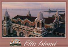 Ellis Island, 1991, NYC