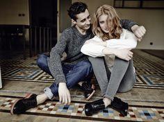 CAMPUS Lookbook Autumn/Winter 2014 #winter #style #inspiration #women #men