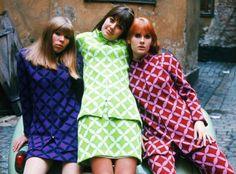 Advertising Photo of Mah-Jong clothes, Sweeden // Photo by Carl Johan De Geer // 1967