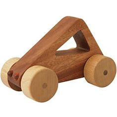 Shape Car - Triangle - Kidton Shape Car - Triangle Features Carefully designed size with smooth-turn