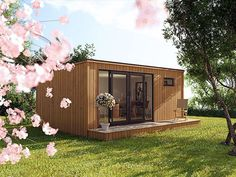 The Cube Garden Room is our stylish, modern and contemporary designed cuboid garden structure. The cube design is one of four premium contemporary mono pitch designs available from Elmwood Summerhouses. Find out more at http://www.elmwoodsummerhouses.com
