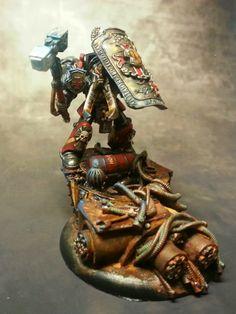Brother Chirone #warhammer #40k #minotaurs