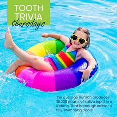 Your saliva helps keep your mouth clean too. That's another reason to stay well hydrated! - Healthy Smiles Happy Teeth | Santa Fe NM | www.childs2thdr.com