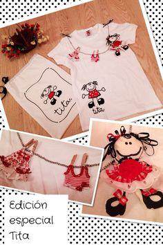Camiseta handmade edición especial TITA