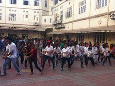 Flash mob at Ruia!