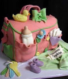Baby cake ~ cute!