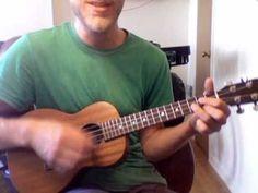 """▶ How to Play """"Somewhere Over the Rainbow"""" on Ukulele - YouTube"""