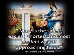 JEZUS en MARIA Groep.: VOLHOUDEN..Zet u in om die weg die naar het leven leid (=Jezus) te vinden. Een korte, zekere, veilige en gemakkelijke WEG om naar Jezus te gaan, is de weg die via Maria gaat. Dit leert de H.Grignion de Montfort ons!