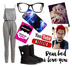 """""""Untitled #16"""" by justjayde ❤ liked on Polyvore featuring Sans Souci, UGG Australia and Spitfire"""