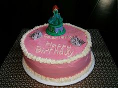 Princess cake for a two-year old #cake4kids