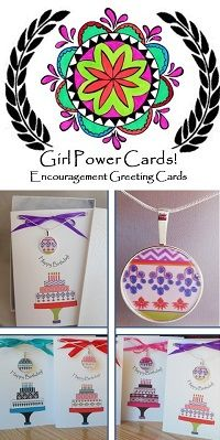 If you want a birthday card and a gift in one,  Girl Power Cards has over 100 necklace/card sets to choose from.  Very trendy...and colorful you'll want more than one!  We also have thank you cards, survivor, and zodiac and more. Happy Birthday Greeting Card, Birthday Wishes, Birthday Cards, More Than One, Matching Necklaces, Girl Power, Thank You Cards, Zodiac, Encouragement