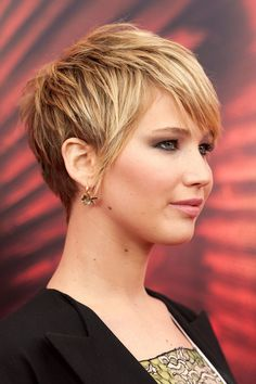 Jennifer Lawrence's Choppy Pixie