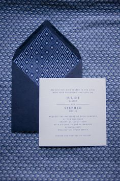 Shweshwe invitations by Seven Swans | Image by Piteira Photography | styled by SouthBound Bride