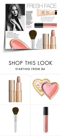 """The Fresh Face Look"" by eirini-kastrou on Polyvore featuring beauty, Charlotte Tilbury, Too Faced Cosmetics, Bare Escentuals and Guerlain"