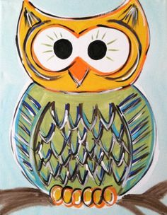'Peery Owl' by Petals and Brushes