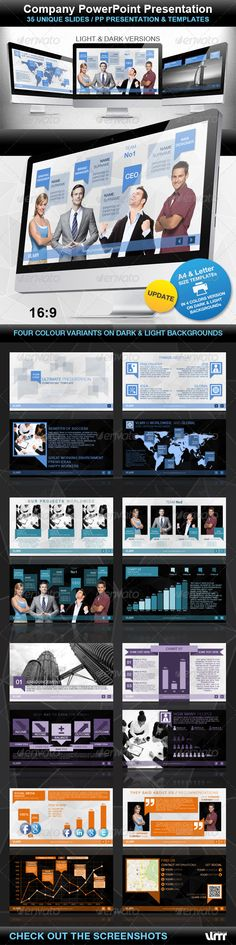 Company PowerPoint Presentation - GraphicRiver Item for Sale