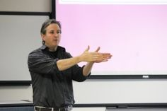 """On Nov. 28, professor of history Michael Oberg presented a lecture titled """"What New York Students Should Learn, But Aren't Taught, About the Iroquois.""""  Oberg discussed Geneseo's Native American studies program, saying, """"We offer these courses not just as bait but because, in my view, the place of [American] Indians in New York state and the U.S. are major issues of public policy and governance. They are issues of law, justice and sovereignty."""""""