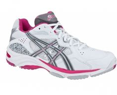 ASICS Gel-Netburner GS Netball Shoe - Get fantastic grip on the court, as well as support, comfort and high performance from these brilliant shoes. Rearfoot GEL provides cushioning in all directions absorbs impact forces and helps to stabilise the foot during heel contact. https://www.activinstinct.com/more-sports/netball/shoes/junior/asics-gel-netburner-gs-junior-netball-shoe-0194/ #netball #shoes
