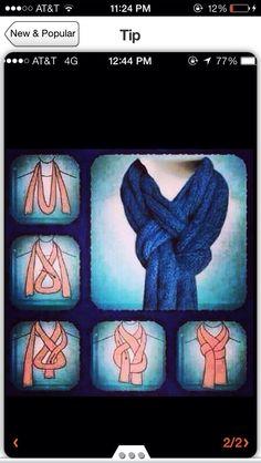 Scarf Technique #Fashion #Trusper #Tip
