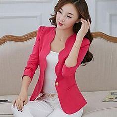 yibeier® chaqueta informal de las mujeres   LightInTheBox