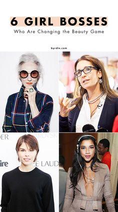 6 incredible women in the beauty industry (via @byrdiebeauty)