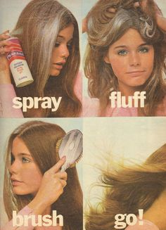 Susan Dey Psst Instant Shampoo - 1970