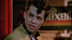 "Phillip F. ""Duckie"" Dale. Rejected from entering a club, but got Kristy Swanson in the end. Now that's geek victory."