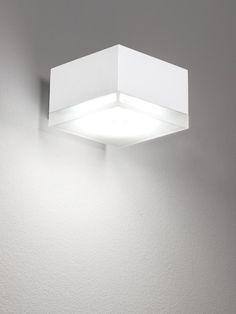 Quba 265 LED Wall Light White