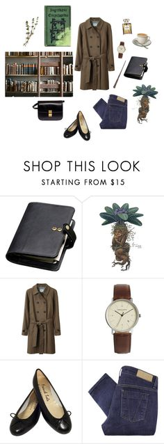 """New herbology professor"" by mozart-and-coffee ❤ liked on Polyvore featuring Mulberry, Steven Alan, Simon Carter, CÉLINE and Victoria Beckham"