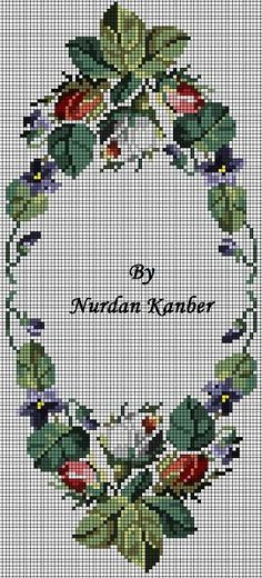 This Pin was discovered by Ang Cross Stitch Rose, Cross Stitch Borders, Cross Stitch Flowers, Cross Stitch Charts, Cross Stitching, Cross Stitch Embroidery, Embroidery Patterns, Hand Embroidery, Cross Stitch Patterns
