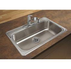 Blanco 441268 BLANCOSPEX II Kitchen Sink Stainless Steel Single Basin ...