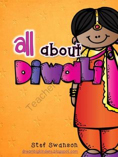 Diwali The Festival of Lights from Dream Big Kinders on TeachersNotebook.com -  (35 pages)  - This packet is perfect for teaching young learners all about the holiday Diwali, The Festival of Lights!