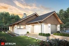 Projekt Pelikan Slim - elewacja domu