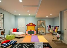 Keeping a play area open ensures it'll stay multi-functional