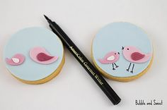 """How to make fondant birdies. -- now if I could only figure out how to make a """"real food"""" fondant!"""