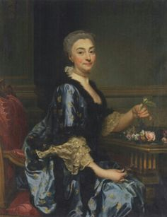 Portrait de l'épouse de Louis de Conzié, 1764 Alexander Roslin