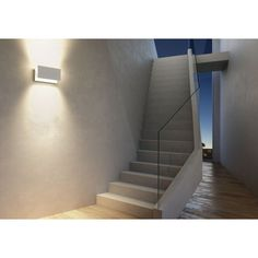 Ledmaxx Design wandlamp Grafiet 15W 3000K IP54 | SameLight.eu Stairs, Design, Home Decor, Self, Taps, Stairway, Decoration Home, Room Decor