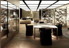 The Alivar Design interiors at the furniture fair in Milan -  This elegant interiors Alivar was shown on the designer Salone del Mobile in Milan in 2012.