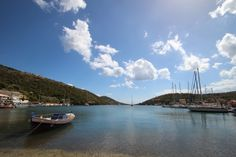 Lovely port of Sivota in Lefkada