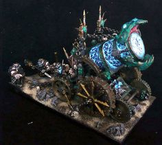 Hellcannon painted by Johannes Andesson
