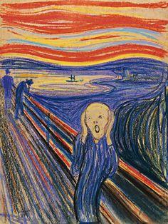 The Scream Painting By Van Gogh
