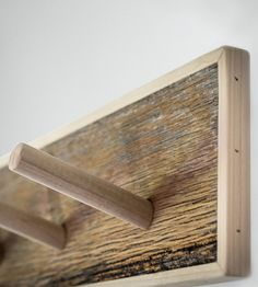Reclaimed Wood Fence Board Coat Rack by Gray Fox Design Works on Scoutmob