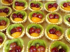 Reteta de acasa: Mini tarte cu fructe Fruit Tartlets, Mini Fruit Tarts, Sweets Recipes, My Recipes, Cooking Recipes, Jacque Pepin, Romanian Food, Dessert Bars, Mini Cakes