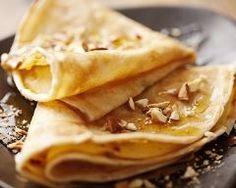 Crêpes au miel et aux noisettes (facile, rapide) - Une recette CuisineAZ
