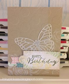 Butterfly Basics Birthday Card with Stampin' Up! bundle HSSSC206