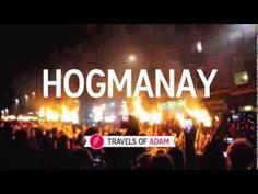 VIDEO: Edinburgh Hogmanay Festival, Torchlight Procession. Scotland New Year Festival.