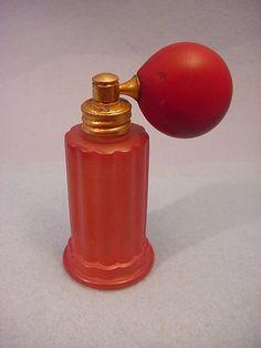 Vintage Satin Glass Perfume Bottle | eBay