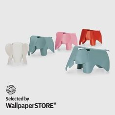 We are happy to announce that products from the Vitra Home Collection are now available at Wallpaper Store #vitra #wallpaper #eameselephant #eames #shop