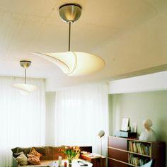 Lighting Propeller ceiling ventilator / ceiling lamp - The Propeller ceiling ventilator by Serien.Lighting is also a ceiling lamp Ceiling Light Design, Ceiling Lights, Office Lamp, Fan Lamp, Red Dot Design, Modern Lighting, Lighting Ideas, Lighting Design, Lamp Design