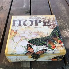 New arrivals #hope #handmade #jewelrybox